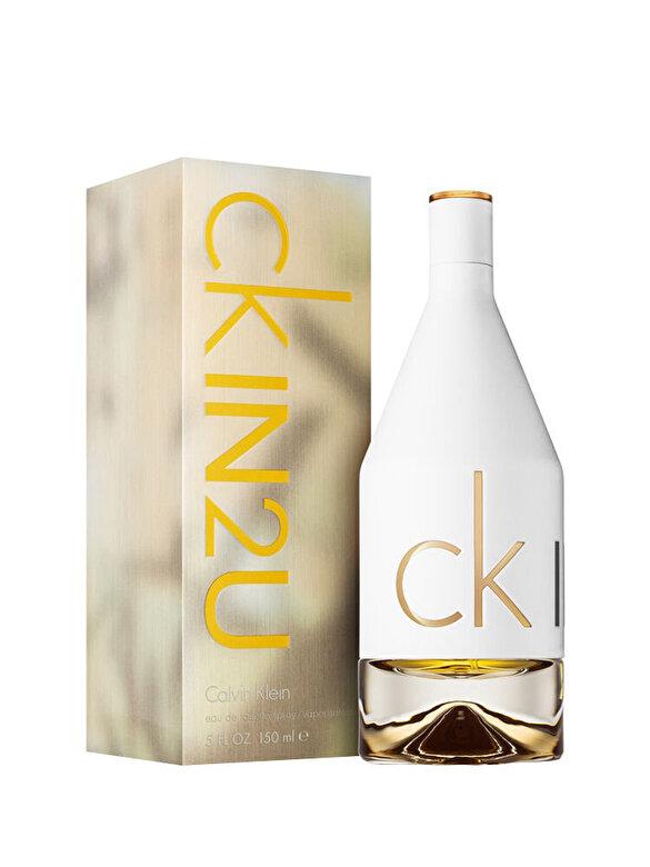 Calvin Klein - Apa de toaleta Calvin Klein CK In2U, 150 ml, Pentru Femei - Incolor