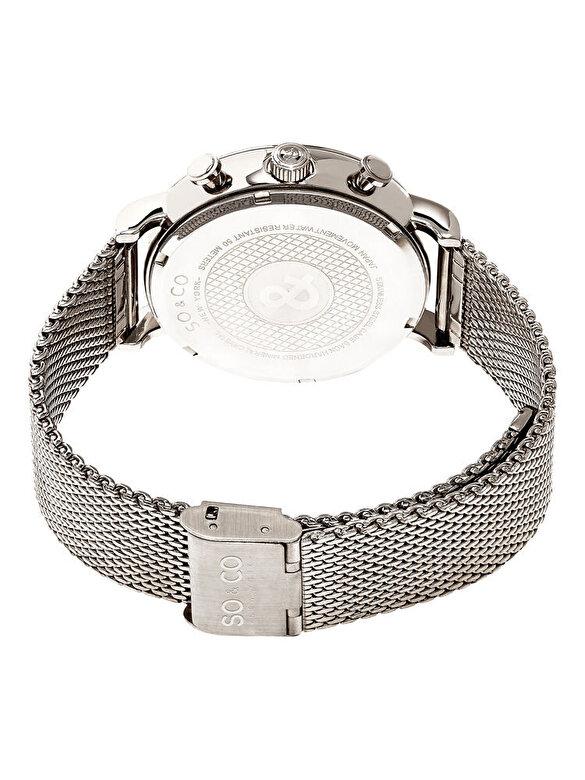 So & Co New York - Ceas So & Co New York 5266M.2 - Argintiu