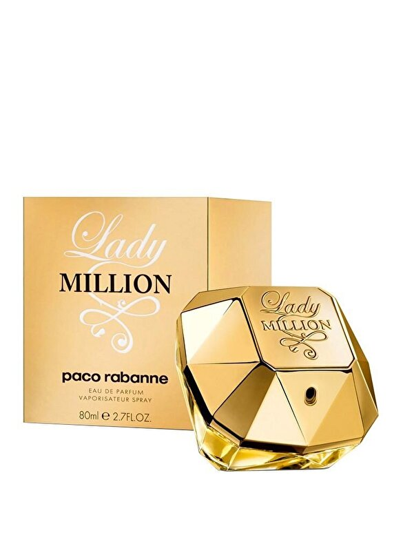 Paco Rabanne - Apa de parfum Paco Rabanne Lady Million, 80 ml, Pentru Femei - Incolor