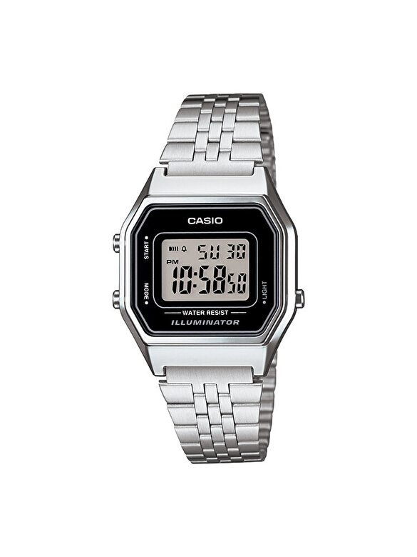 Casio - Ceas Casio LA680WA-1DF - Argintiu