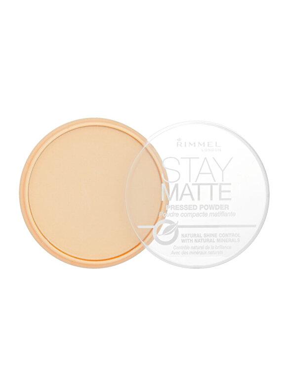 Rimmel - Pudra Rimmel London Stay Matte, 01 Transparent, 14 g - Incolor