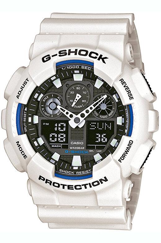 Casio - Ceas Casio G-Shock GA-100B-7AER - Alb
