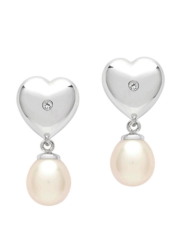 Valero Pearls - Cercei din argint Valero Pearls 60020007 - Argintiu