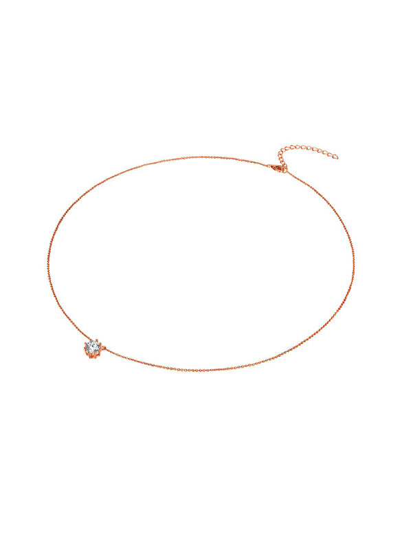 Rafaela Donata - Colier din argint Rafaela Donata 60903161 - Auriu Rose