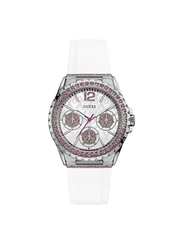 Guess - Ceas Guess Sparkling Ping W0032L6 - Alb