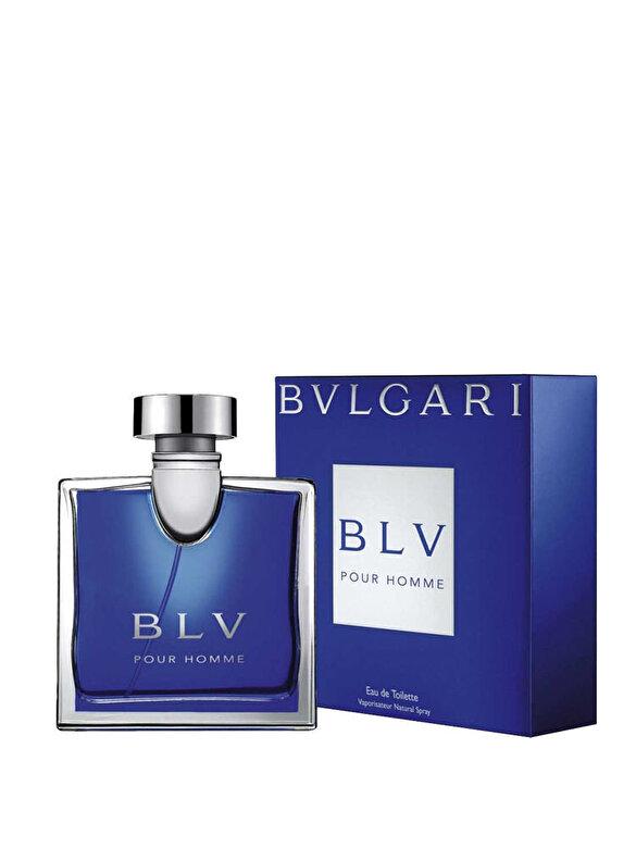 Bvlgari - Apa de toaleta Bvlgari BLV Pour Homme, 100 ml, Pentru Barbati - Incolor