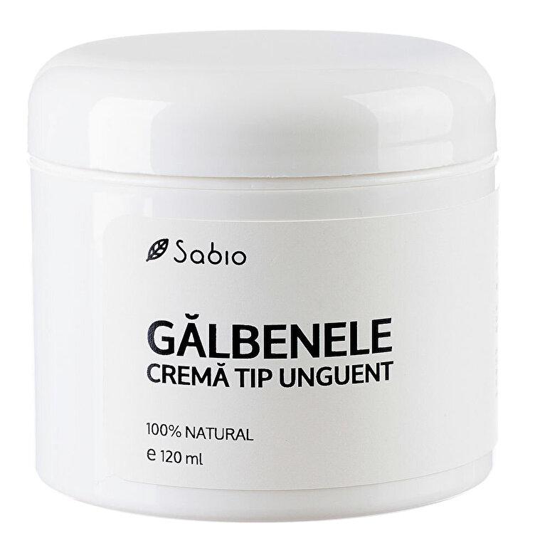 Sabio - Unguent cu extract de Galbenele, 120 ml - Incolor
