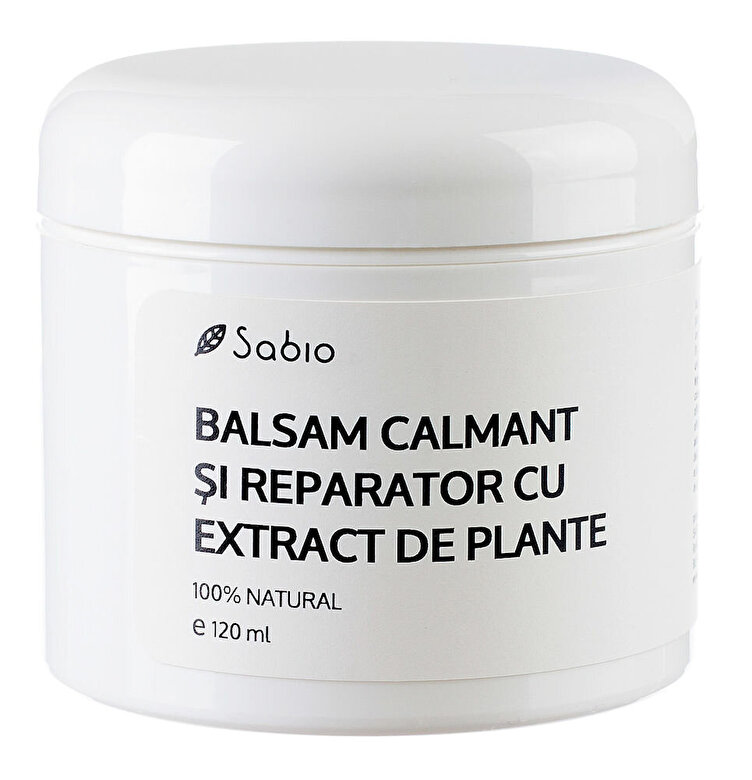 Sabio - Balsam calmant si reparator cu extract de plante, 120 ml - Incolor