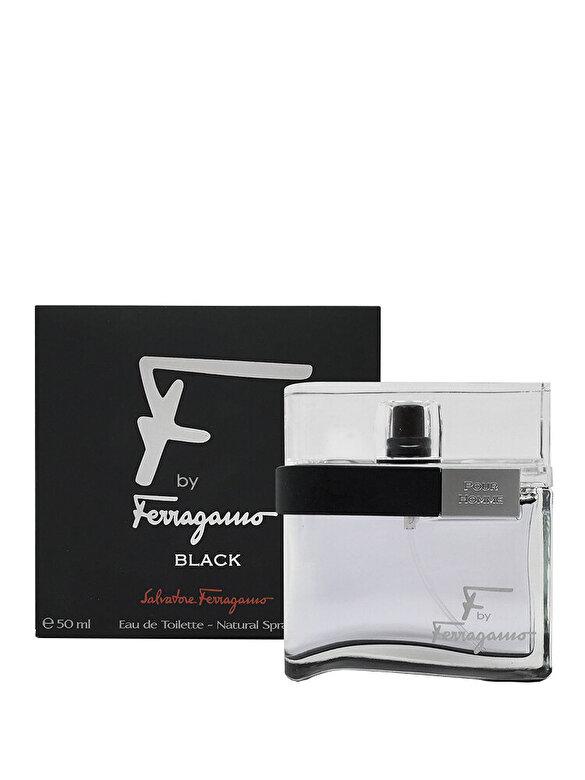 Salvatore Ferragamo - Apa de toaleta F by Ferragamo black, 50 ml, Pentru Barbati - Incolor
