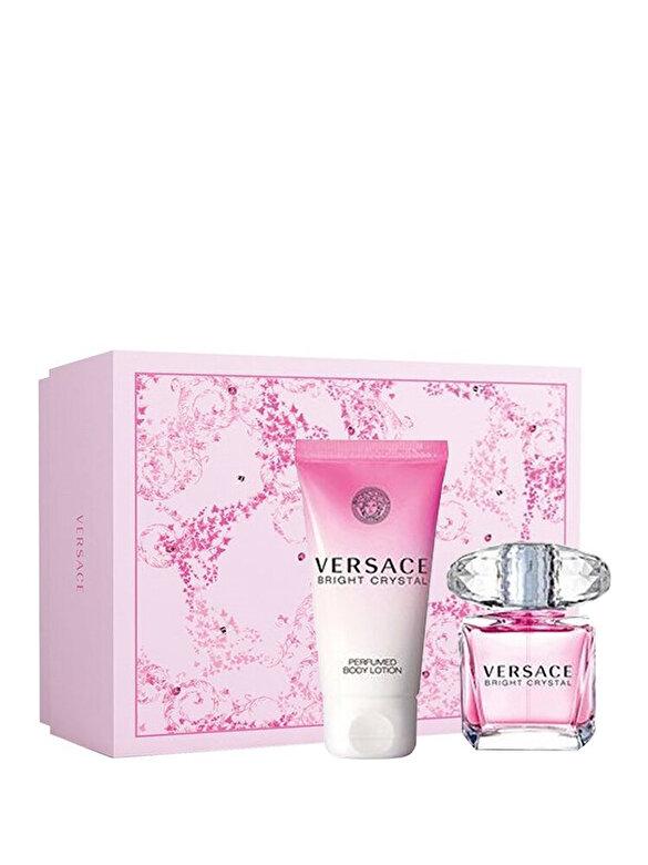 Versace - Set cadou Bright Crystal (Apa de toaleta 30 ml + Lotiune de corp 50 ml), Pentru Femei - Incolor