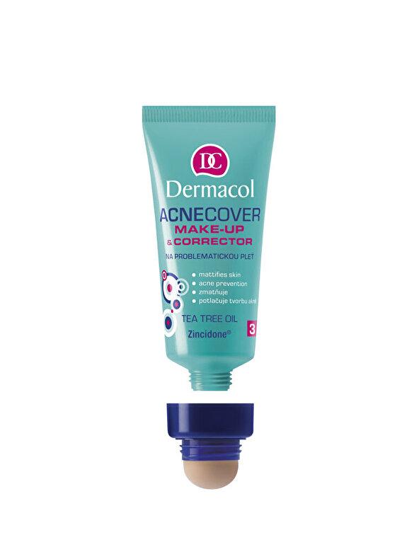 Dermacol - Tratament pentru fata anti-acneic Acnecover 03, 03 , 30 ml - Incolor