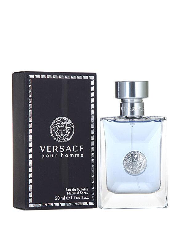 Versace - Apa de toaleta Pour Homme, 50 ml, Pentru Barbati - Incolor