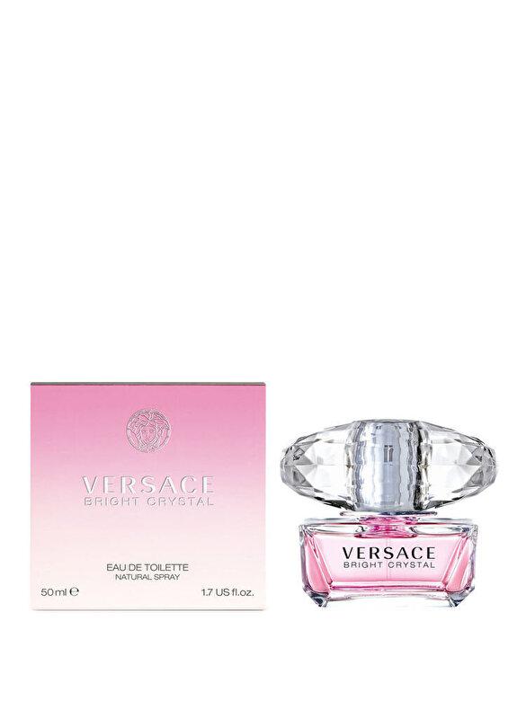 Versace - Apa de toaleta Bright Crystal, 50 ml, Pentru Femei - Incolor