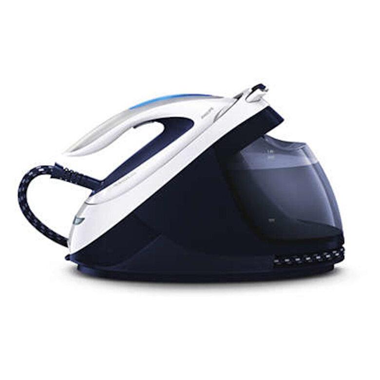 Philips - Statie de calcat Philips Perfect Care Elite GC9622/20, Talpa T-ionicGlide, 2400 W, 1.8 l, 400 g/min - Albastru