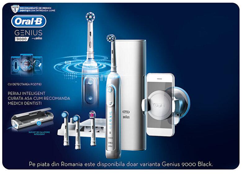 Oral-B - Periuta Electrica Oral B Genius 9000 - Negru