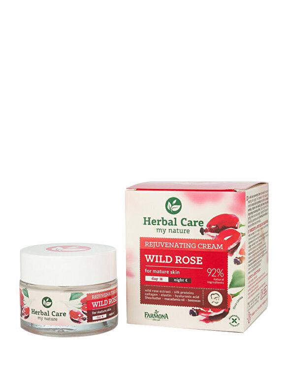 Farmona - Crema antirid pentru tenul matur cu Trandafiri Herbal Care, 50 ml - Incolor