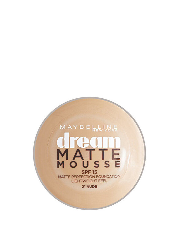 Maybelline NY - Fond de ten spuma Dream Mat, 21 Nude, 18 ml - Incolor