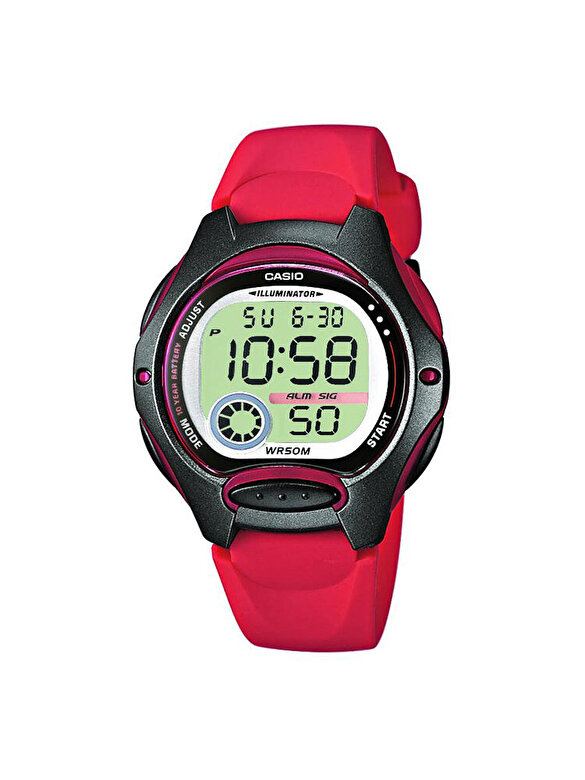 Casio - Ceas Casio Sports LW-200-4A - Rosu