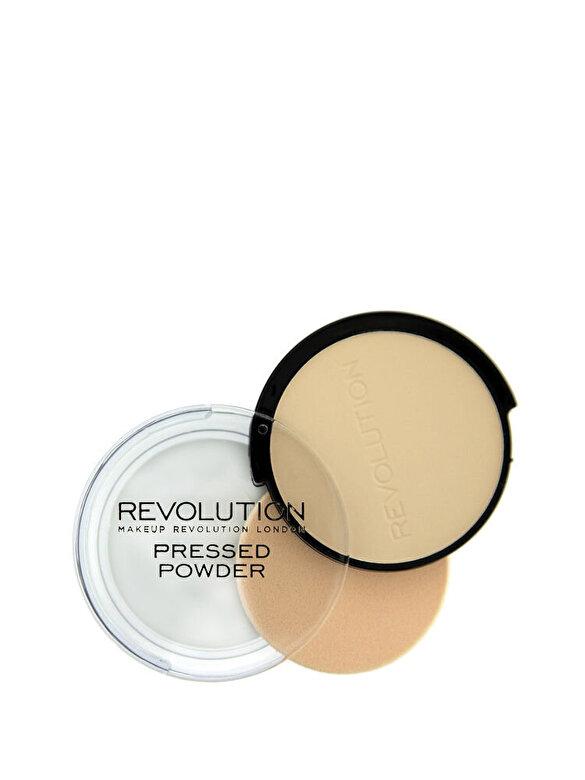 Makeup Revolution London - Pudra Pressed Powder, nuanta Soft Pink, 75 g - Incolor