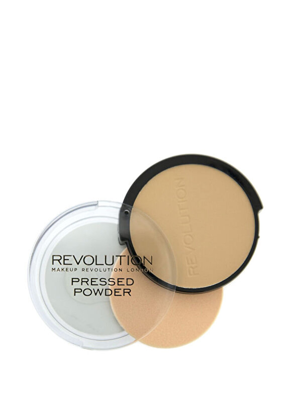 Makeup Revolution London - Pudra Pressed Powder, nuanta Powder Translucent, 75 g - Incolor