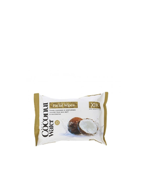 Xpel Hair Care - Servetele demachiante hidratante, cu apa de nuca de cocos - Incolor