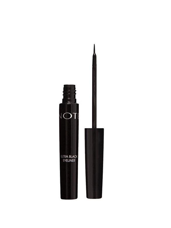 NOTE Cosmetics - Tus de ochi, nuanta Ultra Negru, 4.5 ml - Incolor