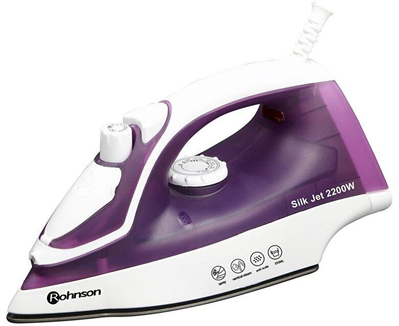 Rohnson - Fier de calcat Rohnson R332, 2200W, talpa inox - Violet