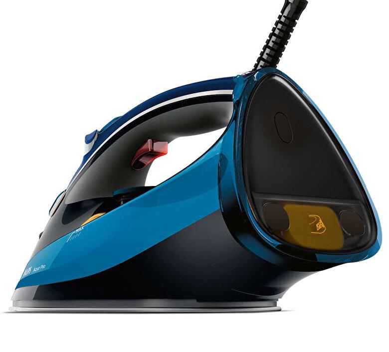 Philips - Fier de calcat Philips Azur Pro GC4881/20, Talpa T-IonicGlide, 2800 W, 0.35 l - Albastru metalic