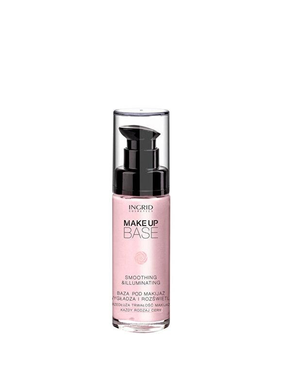 INGRID Cosmetics - Baza de machiaj profesionala cu efect iluminator, 30 ml - Incolor