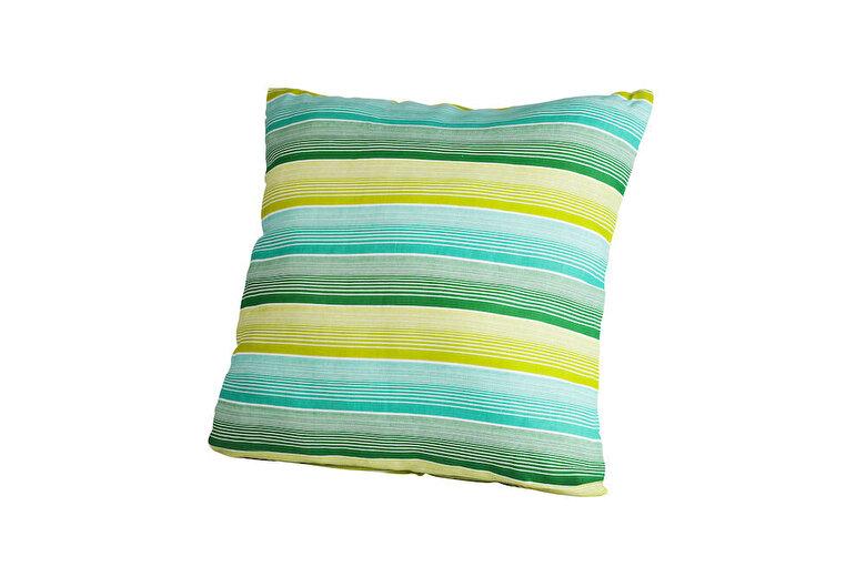 Heinner - Perna decorativa, Heinner, HR-PLW40-GRN01, 40x40 cm, 100% bumbac - Albastru-verde