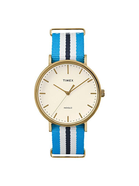 Timex - Ceas Timex Weekender TW2P91000 - Albastru-alb