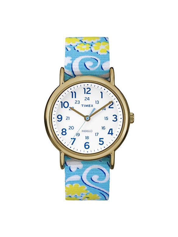 Timex - Ceas Timex Weekender TW2P90100 - Albastru-alb