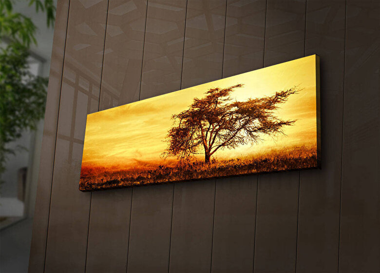 Shining - Tablou decorativ canvas cu leduri  Shining - Multicolor