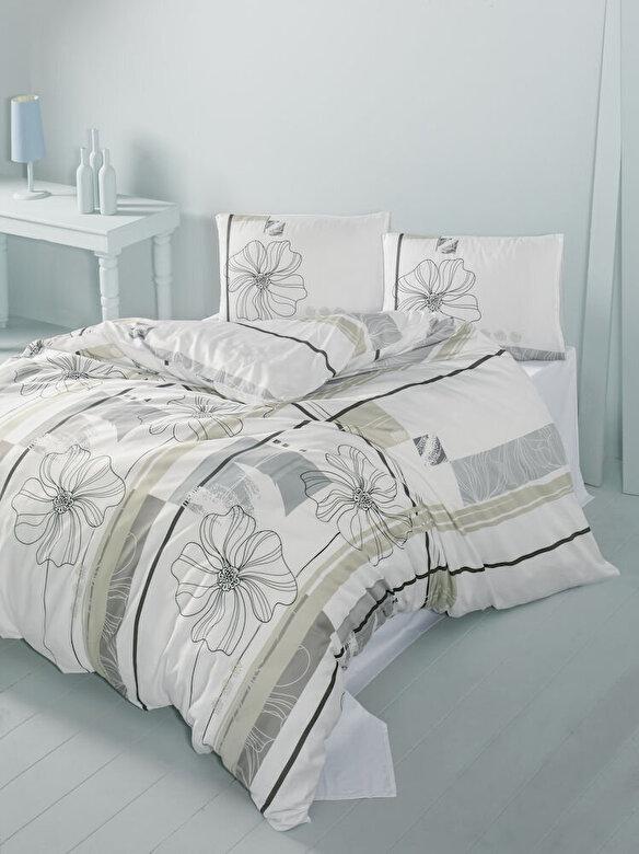 Victoria - Lenjerie de pat, Victoria, material: 100% bumbac, 121VCT2442, 240 x 260 cm - Multicolor