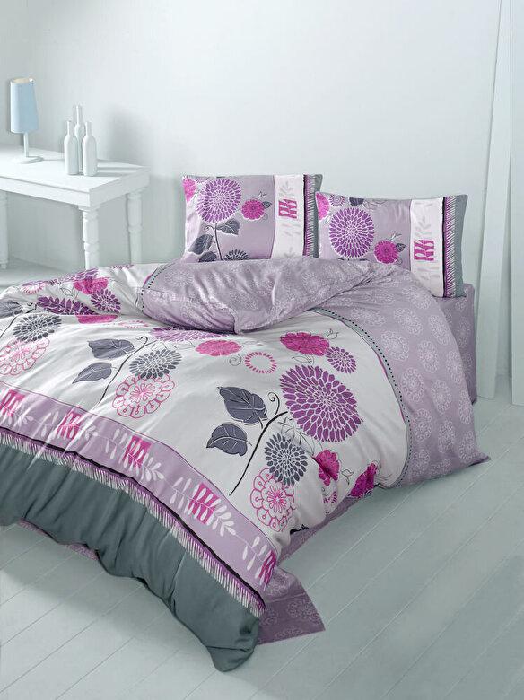 Victoria - Lenjerie de pat, Victoria, material: 100% bumbac, 121VCT2337 - Multicolor