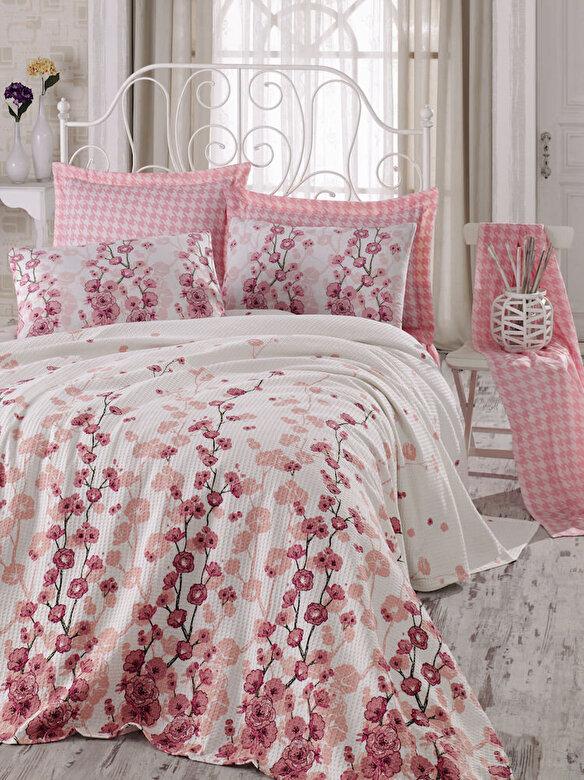 Eponj Home - Set lenjerie de pat, Eponj Home, material: 100% bumbac, 143EPJ5436 - Multicolor