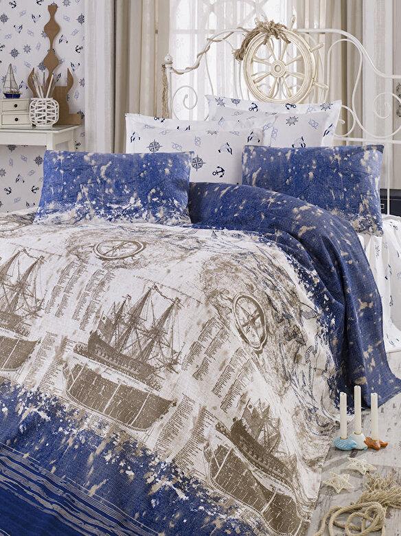 Eponj Home - Set lenjerie de pat, Eponj Home, material: 100% bumbac, 143EPJ5446 - Multicolor