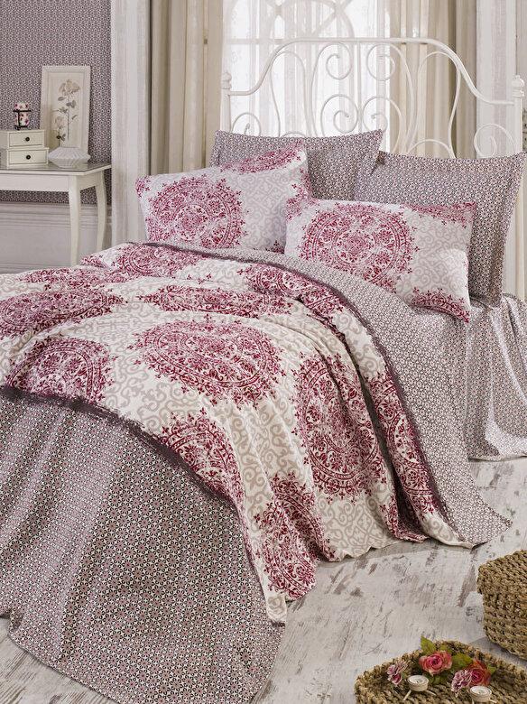 Eponj Home - Set lenjerie de pat, Eponj Home, material: 100% bumbac, 143EPJ5448 - Multicolor