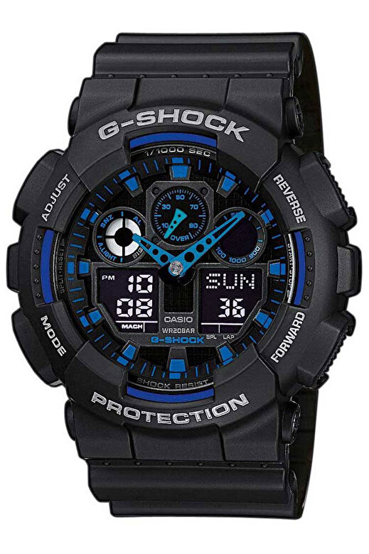 Casio - Ceas Casio G-Shock GA-100-1A2ER - Negru