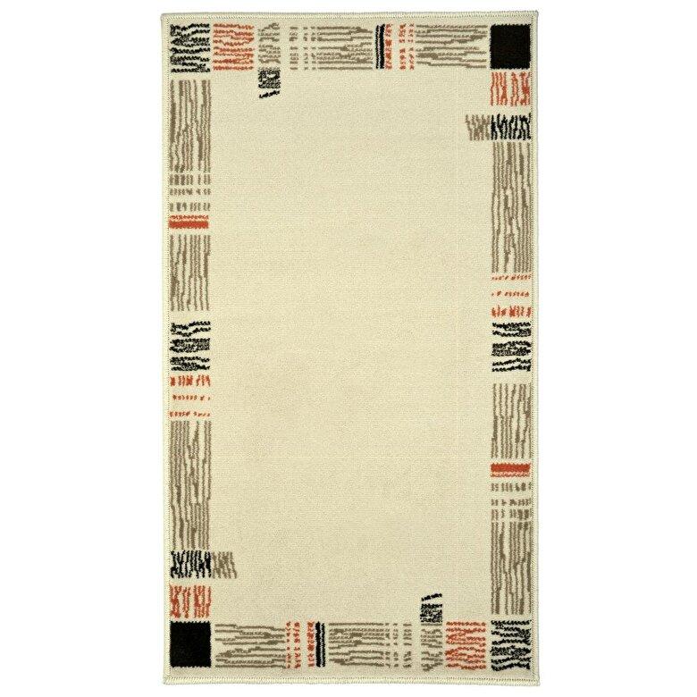 Decorino - Covor Decorino, Oriental & Clasic, polipropilena, C-020171, 80x150 cm, Bej - Bej