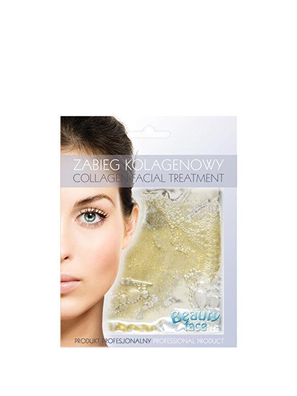 Beauty Face - Tratament regenerator cu Collagen pentru imbunatatirea circulatiei tenului matur, 60 g - Incolor