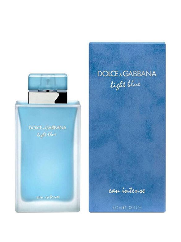 Dolce & Gabbana - Apa de parfum Light Blue Eau Intense, 100 ml, Pentru Femei - Incolor