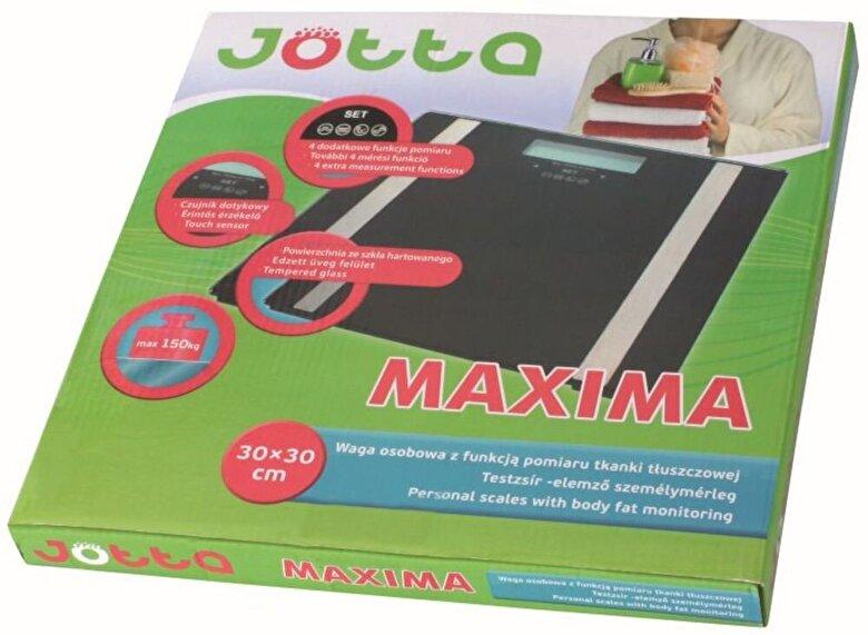 Jotta - Cantar electric personal Jotta, 61006, 30X30 cm, Monitorizare Grasime, negru - Negru