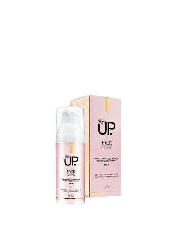 Skin UP - Crema de fata hidratanta si tonifianta zi/noapte 40+, 50 ml - Incolor