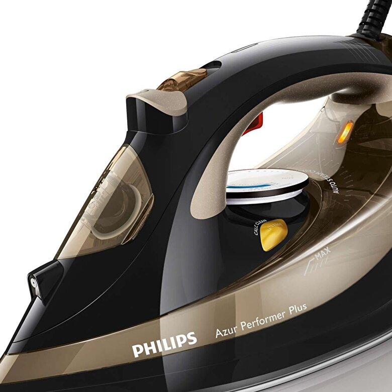 Philips - Fier de calcat Philips Azur Performer Plus GC4527/00, 2600 W, 0.3 l, 220g/min, negru - Negru