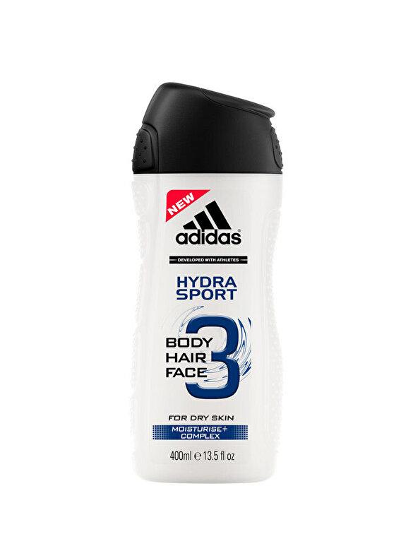 Adidas - Gel de dus Adidas 3in1 Hydra Sport, 400 g, Pentru Barbati - Incolor