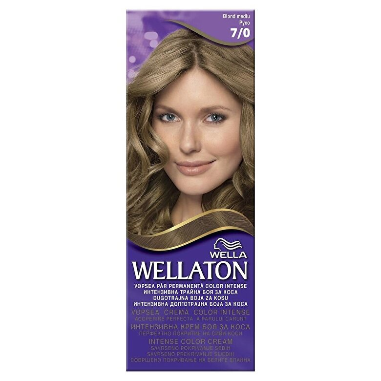 Wellaton - Vopsea par Wellaton 70 Blond mediu - Incolor