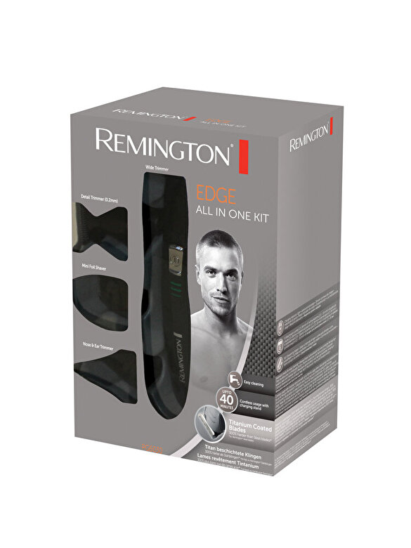 Remington - Set de ingrijire personala Remington Edge PG6030 - Negru