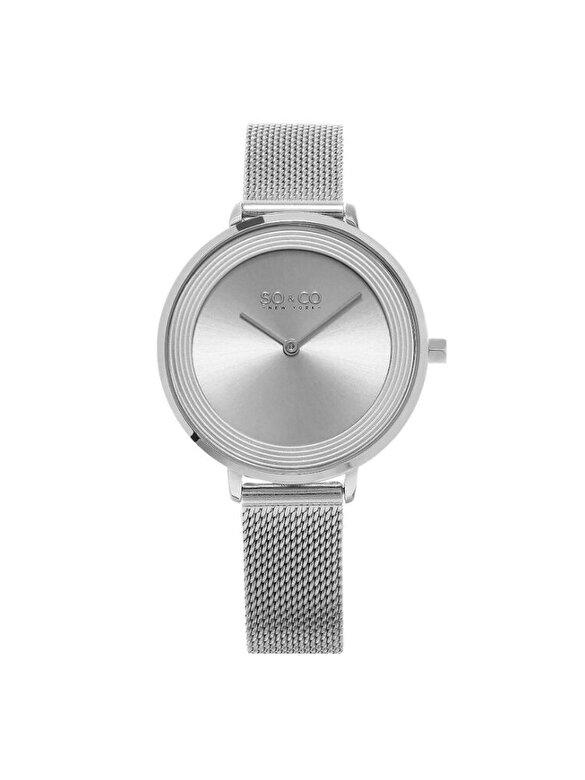 So & Co New York - Ceas So & Co New York Madison 5204M.1 - Argintiu