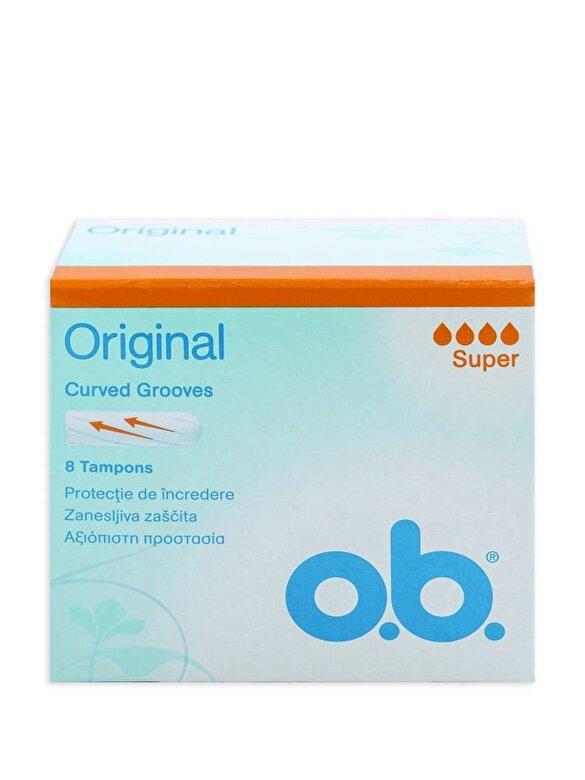 O.B. - Tampoane OB Super, 8 bucati - Incolor